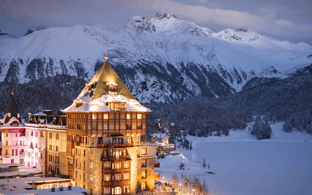 Luxury Ski Breaks at Badrutt's Palace