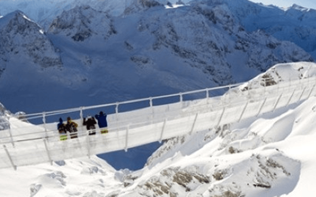 World's Highest Suspension Bridge Opens in Swiss Alps