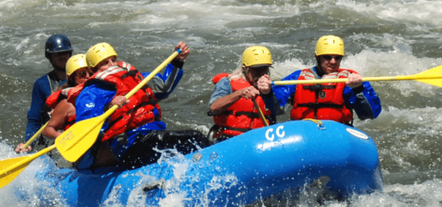 Whitewater Rafting In The Winter