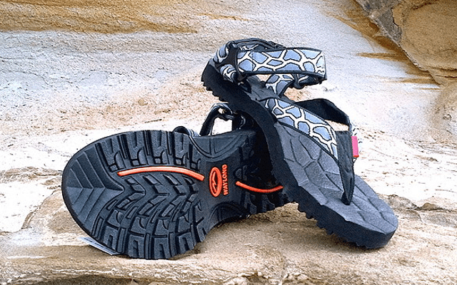 b7e3296477d4 When you think of hiking you might not immediately think of sandals as the  ideal footwear – they naturally summon up images sun-scorched pavements and  ...